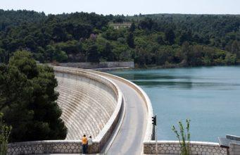 Lake Marathon Dam, Greece