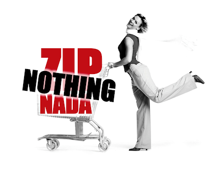 Zip Nothing Nada