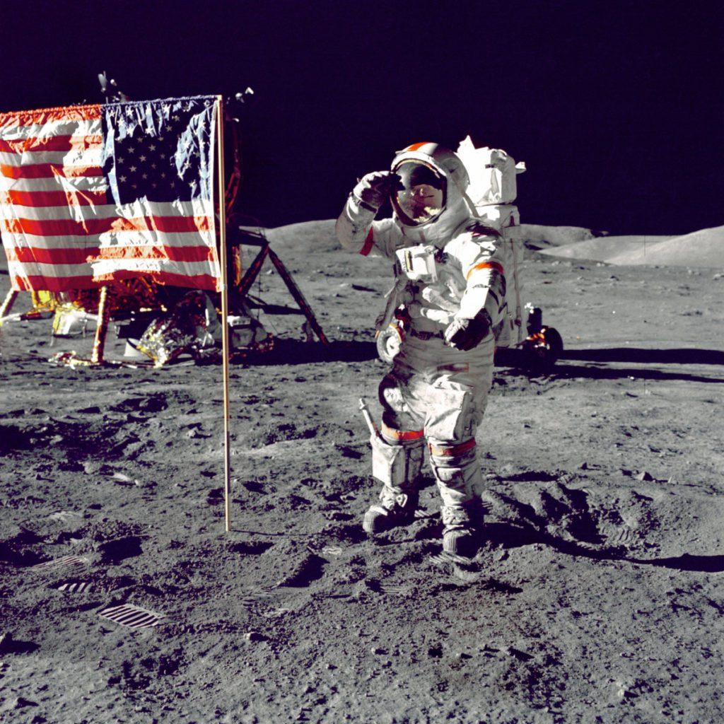 Φεγγάρι, Σελήνη, Αστροναύτης
