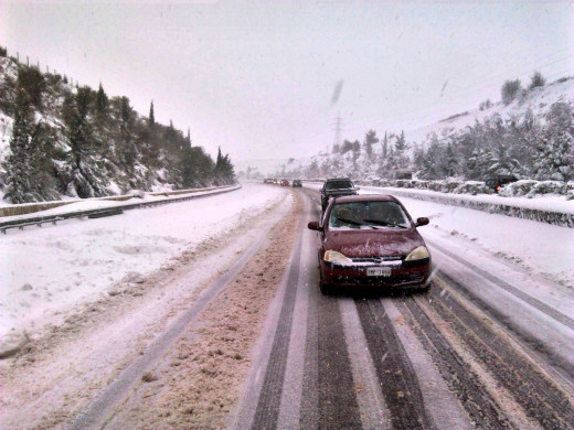 Ανακοίνωση για διακοπή κυκλοφορίας στην Αθηνών-Λαμίας