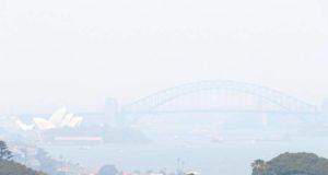 Το Σίδνεϊ βυθίστηκε στο νέφος