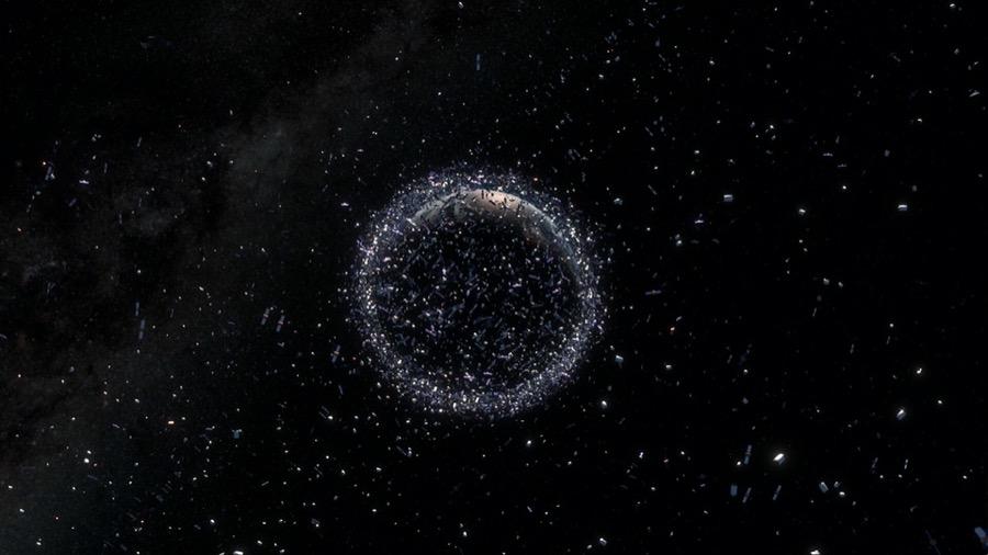 διαστημικά σκουπίδια