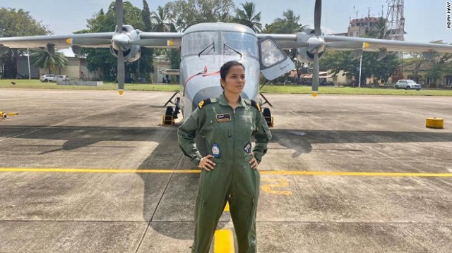 Sub Lieutenant Shivangi