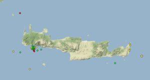 Σεισμοί στη Κρήτη