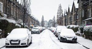 Χιόνι αυτοκίνητα