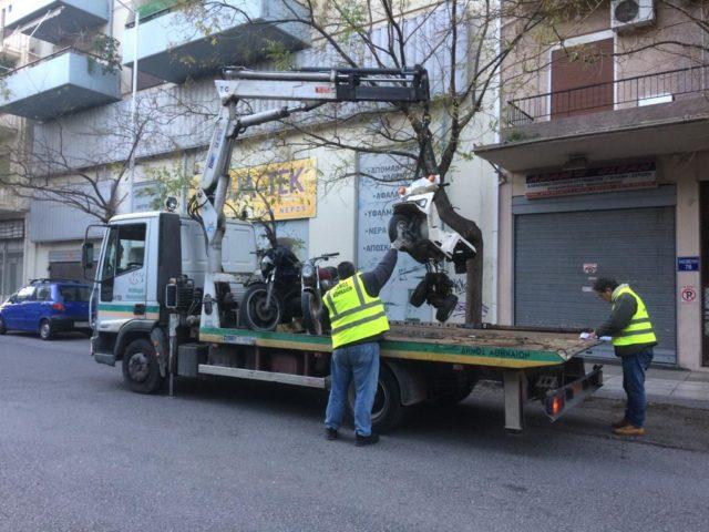 Δήμος Αθηναίων: Απομάκρυνση δικύκλων για βελτίωση της προσβασιμότηταςΦΩΤΟ2