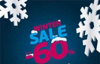 1080x1080px generic post winter sales F