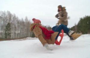 Περίεργες και αστείες στιγμές στα χιόνια