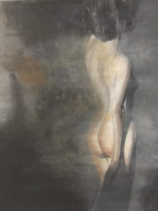 Άρια Φωτιάδου, Χωρίς τίτλο, 100x80cm, Ακρυλικά σε καμβά (Copy)