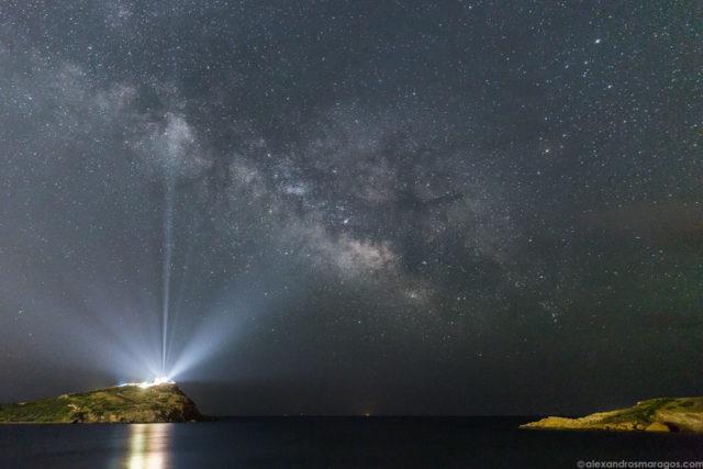 Σούνιο - Η φωτογραφία της ΝASA που έγινε viral έχει χρώμα Ελλάδας