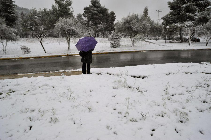 Κακοκαιρία, χιόνια
