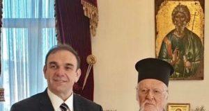 Υπέρ της μείωσης των πλαστικών οΟικουμενικός Πατριάρχης κκ Βαρθολομαίος