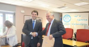 Χαλάνδρι: Ενημέρωση του υφυπουργού Περιβάλλοντος της Σλοβακίας για τα απορρίμματα
