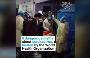 6 dangerous myths about coronavirus busted by the World Health Organization