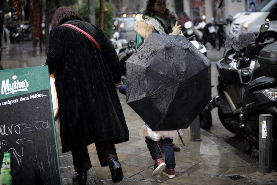 Βροχή, καταιγίδα
