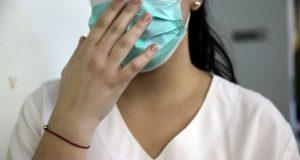 Εποχική γρίπη, μάσκα, γιατρός, νοσοκομείο