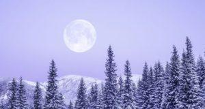 πανσέληνος χιονιού