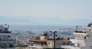 Πολυκατοικίες, ακίνητα, κτίρια, Αθήνα, πόλη