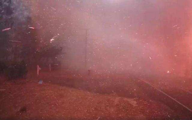 Πυρκαγιά έκαψε τα πάντα σε 2 λεπτά