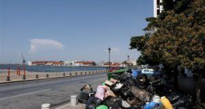 Σκουπίδια στη Θεσσαλονίκη