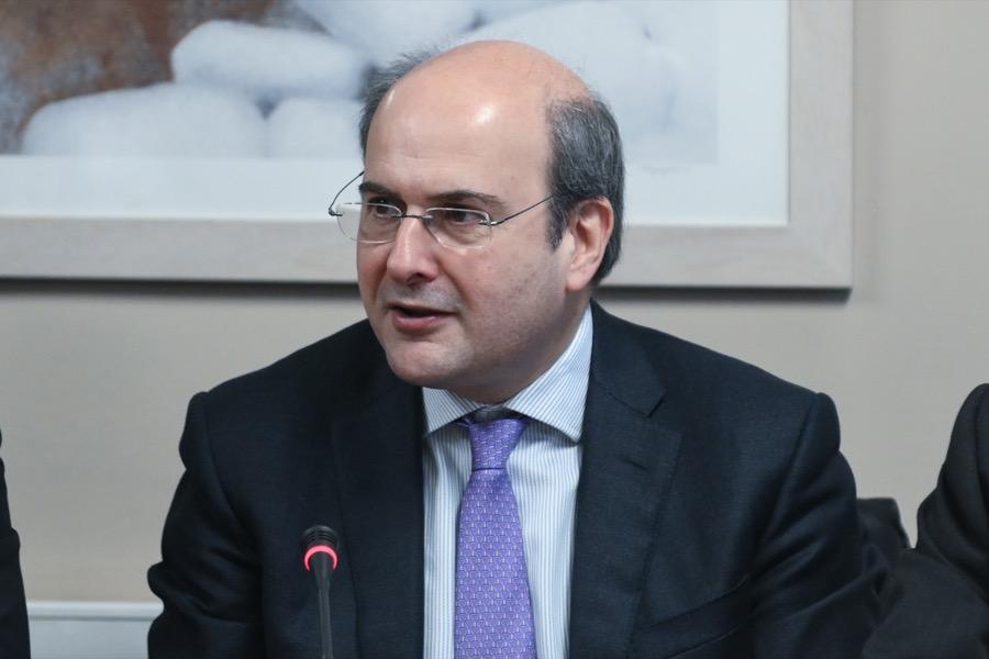 υπουργός Περιβάλλοντος και Ενέργειας Κωστής Χατζηδάκης