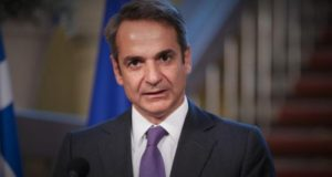 Έλληνας πρωθυπουργός Κυριάκος Μητσοτάκης