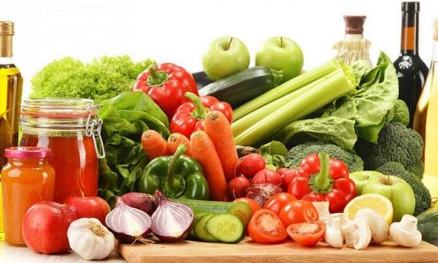 Λαχανικά, φυτοφαγική διατροφή