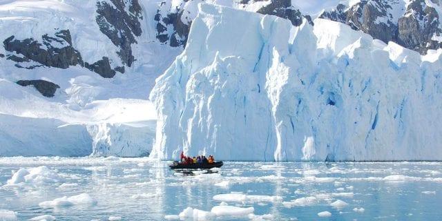 Ανταρκτική, Παγετώνας