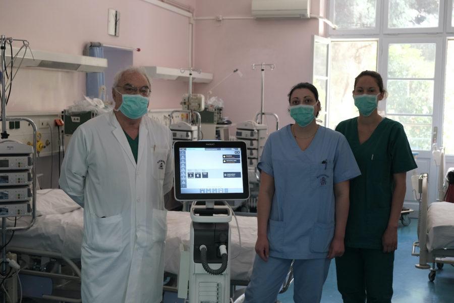 Κορονοϊός: Δωρεά 50 αναπνευστήρων από την εταιρία «Παπαστράτος» για τις ΜΕΘ