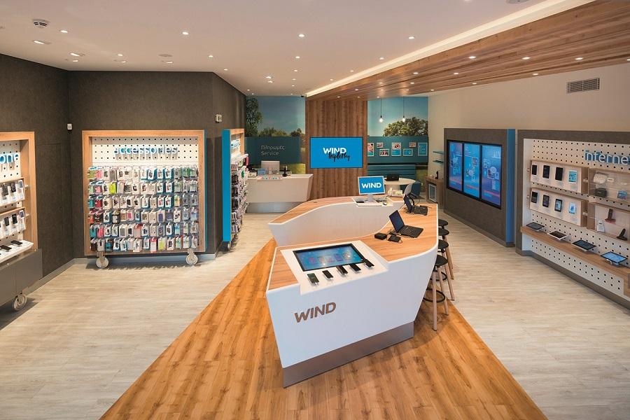 Καταστήματα WIND SHOP, WIND, 22JAN2015