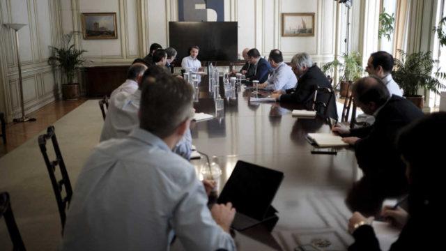 Μέγαρο Μαξίμου, Συνεδρίαση