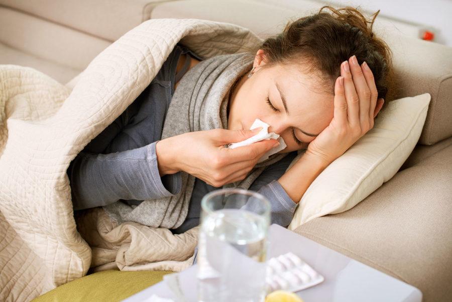 Γρίπη, Αρρώστια, αλλεργία