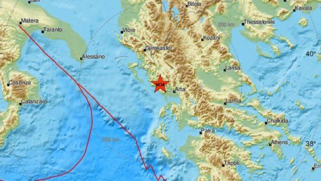 Ισχυρός σεισμός 5,6 Ρίχτερ ταρακούνησε τη Δυτική Ελλάδα