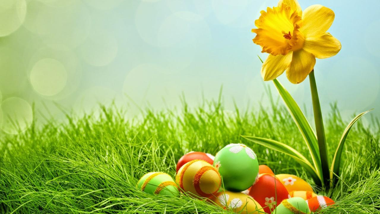 Κόκκινα αυγά - Πάσχα - Καιρός