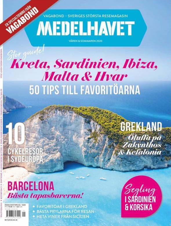 Σουηδικό τουριστικό περιοδικό προβάλει και αποθεώνει την Ελλάδα εν μέσω κορονοϊού