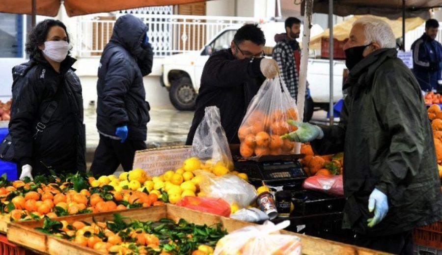 Κορονοϊός - Λαϊκές αγορές