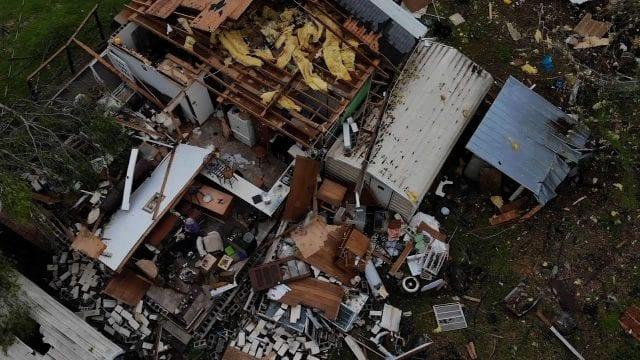 Ανεμοστρόβιλος - ΗΠΑ - Καταστροφές