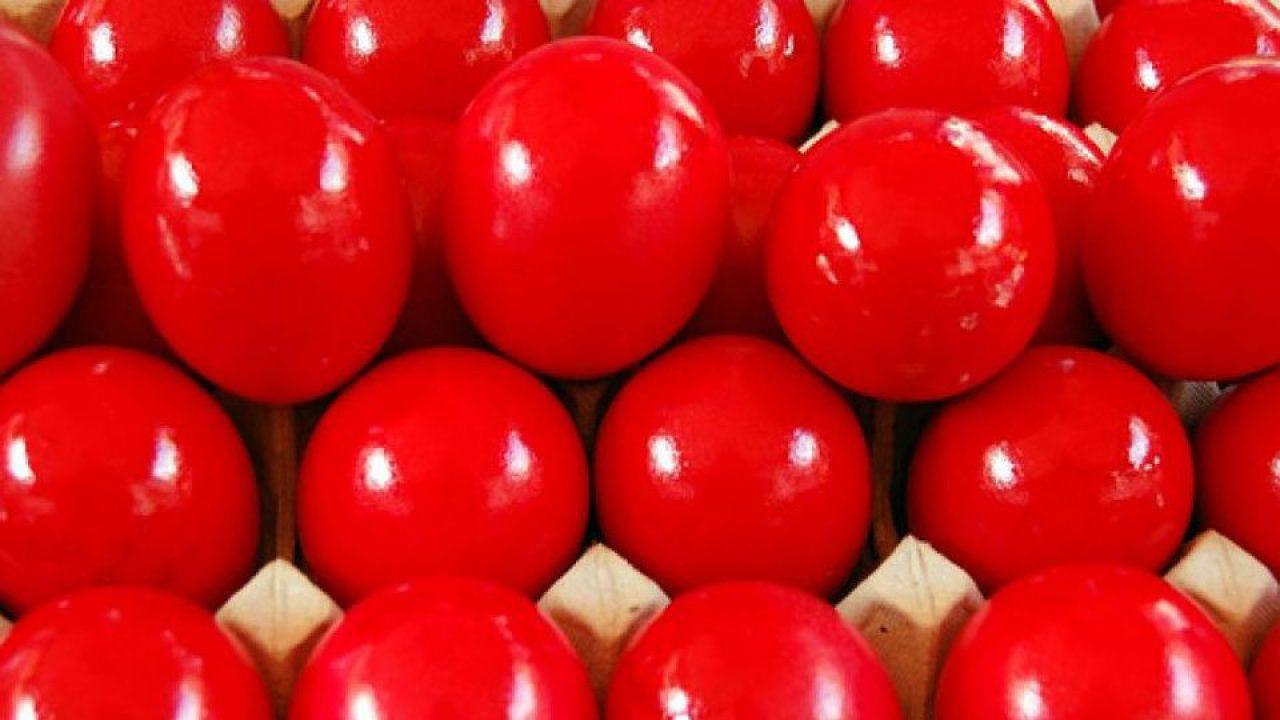 Κόκκινα Αυγά - Πάσχα