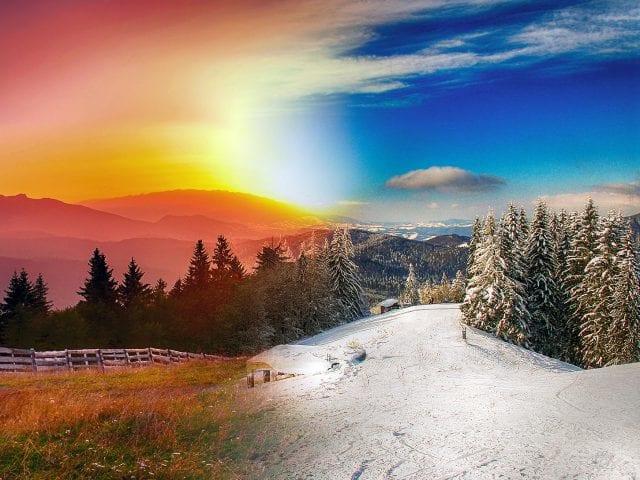 Ζέστη - Κρύο - Χιόνια - Ηλιοφάνεια - Καιρός