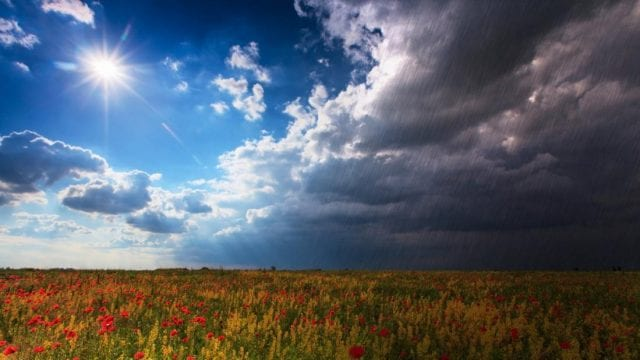 Βροχές - Ήλιος - Καιρός