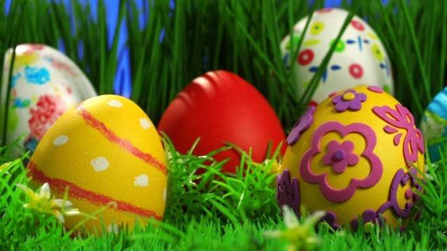 Κόκκινα αυγά - Πάσχα - πασχαλινά αβγά