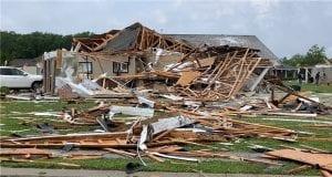 Ανεμοστρόβιλος - Καταστροφές - Λουιζιάνα ΗΠΑ