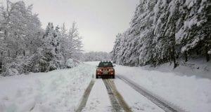Χιόνια, Χιονοκάλυψη