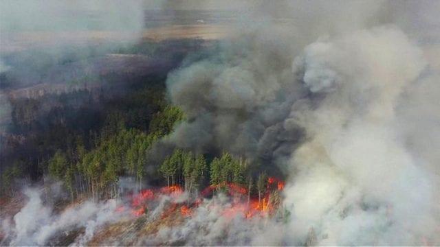Φωτιά - Τσερνόμπιλ