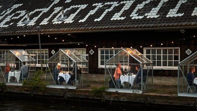 Ολλανδία - Κουβούκλια - Εστιατόριο