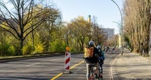 Ποδηλατόδρομοι, προσωρινός ποδηλατόδρομος Βερολίνο