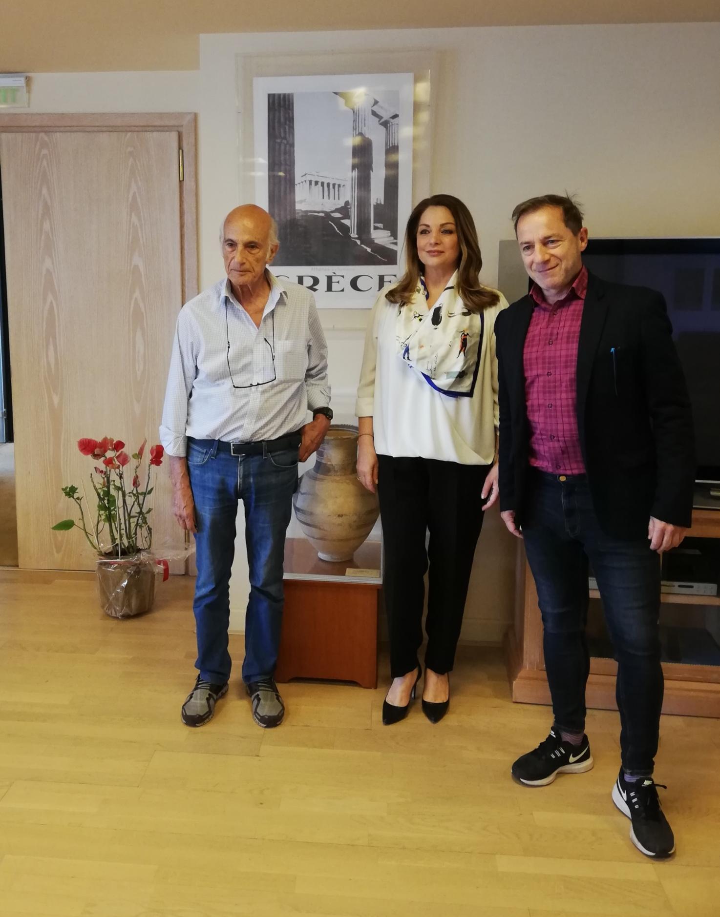 Η Ελλάδα διεθνής πολιτιστικός προορισμός - Συνεργασία μεταξύ ΕΟΤ και Εθνικού Θεάτρου