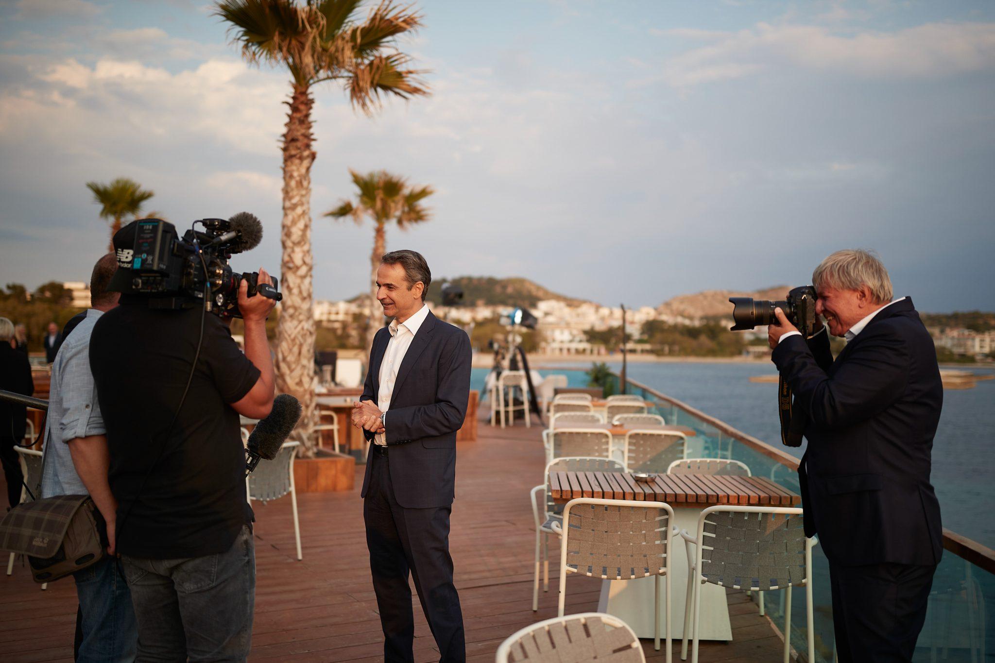 K. Mητσοτάκης στη Bild: Η Ελλάδα διακρίνεται για την υψηλή αξιοπιστία της