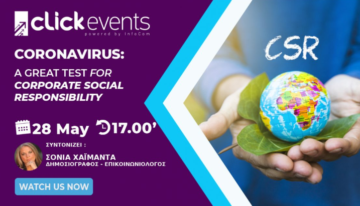 Coronavirus A great test for Corporate Social Responsibility