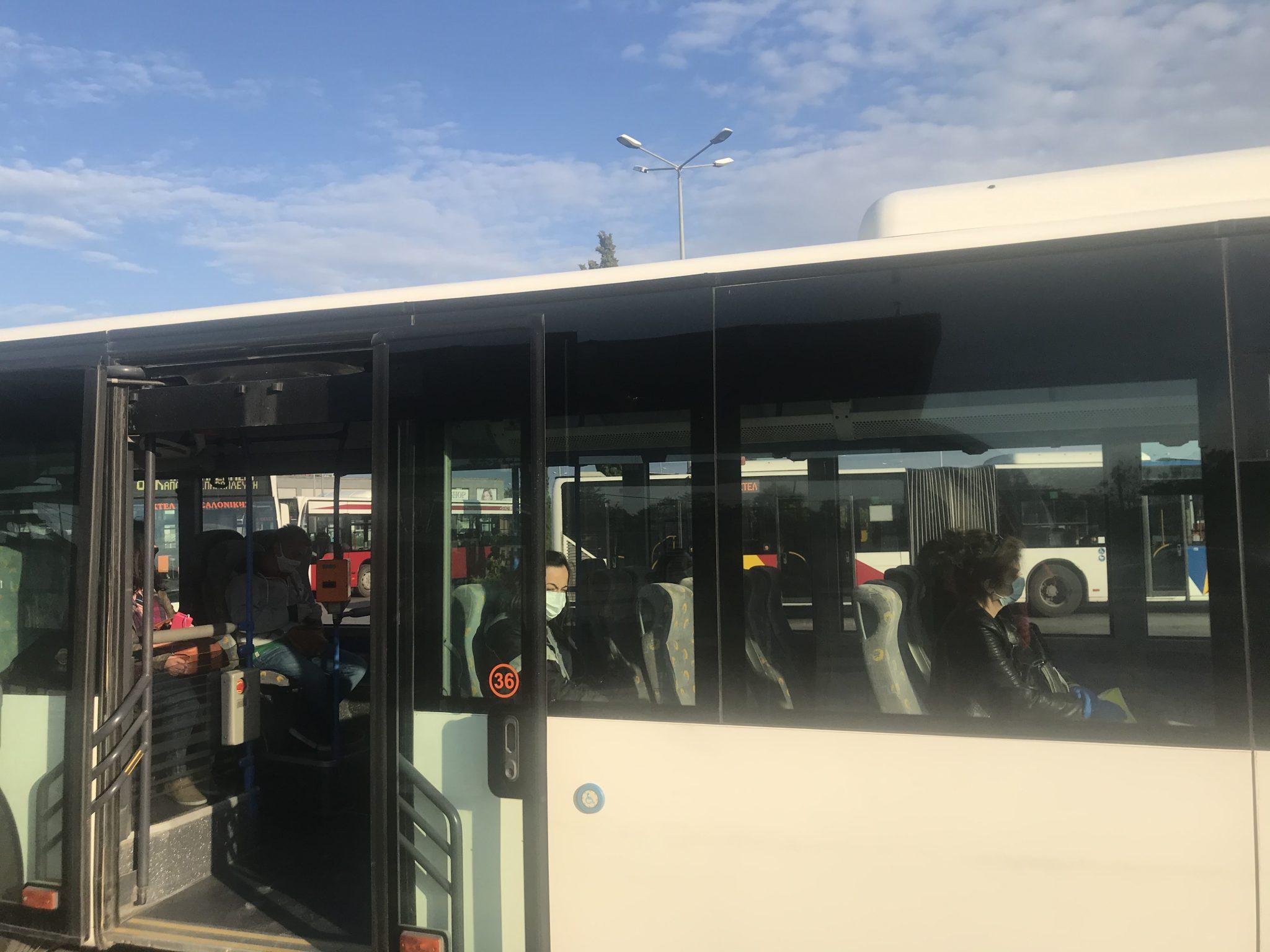 Με τη γραμμή 55 ολοκληρώνεται η ενσωμάτωση του ΚΤΕΛ Θεσσαλονίκης στην αστική συγκοινωνία